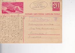 CROATIA --  NDH  -- SCHWEIZ  --   ZEMUN, CROATIA  --  CENZURA  --  1944  --  POSTKARTE, CARTE POSTALE   ST. GOTTHARD - Kroatien