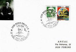 ITALIA - 1988 REGGIO EMILIA Omaggio Ad ANDREA BALLETTI Storico - 23° Convegno Fil. Num. Città Del Tricolore - 483 - Celebrità