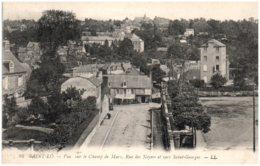 50 SAINT-LO - Vue Sur Le Champ De Mars, Rue Des Noyers Et Vers Saint-Georges - Saint Lo