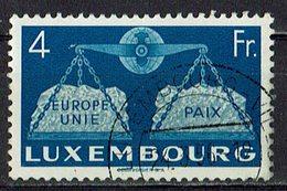 Luxemburg 1951 O - Usati
