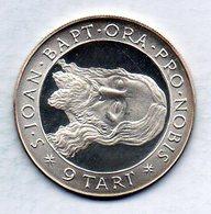 MALTA (ORDER OF), 9 Tari, Silver, Year 1970, KM #M36 - Malta