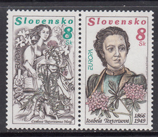 Slovakia MNH Michel Nr 250/51 From 1996 / Catw 2.00 EUR - Slowakije