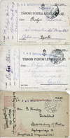 AUSTRIA   1915/17  PRISONER Of WAR POSTCARDS USED - Covers & Documents