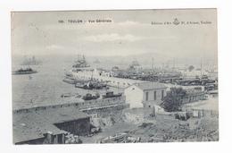 83 Toulon N°126 Vue Générale En 1908 édition D'Art Pl D'Armes Toulon Dépôt Matériaux ? Navires - Toulon