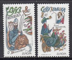 Czech Republic MNH Michel Nr 144/45 From 1997 / Catw 2.00 EUR - Ongebruikt