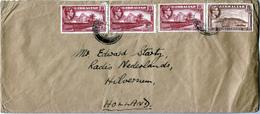 GIBRALTAR  1948  COVER To HOLLAND - Gibraltar