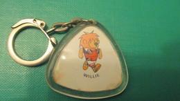 Porte Clé Vintage Willie Coupe Du Monde De Football 1966 Jules Rimet - Key-rings