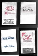 Tovagliolino Da Caffè - Lotto 4 Pezzi  N. 01 - Serviettes Publicitaires