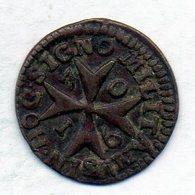 MALTA, 1 Grano, Copper, Year 1760, KM #C1 - Malta