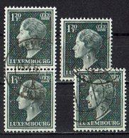 Luxemburg 1953 O - Usati
