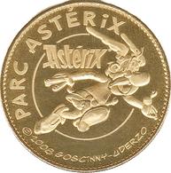 60 PARC ASTERIX MÉDAILLE SOUVENIR ARTHUS BERTRAND 2009 JETON TOURISTIQUE TOKENS MEDALS COINS - Arthus Bertrand