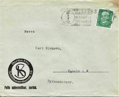 Deutsches Reich - Umschlag Echt Gelaufen / Cover Used (T737) - Deutschland