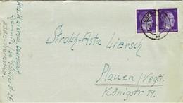 Deutsches Reich - Umschlag Echt Gelaufen / Cover Used (T738) - Deutschland