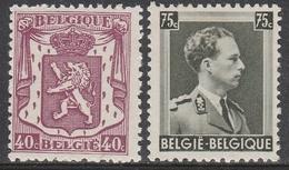 479/480 ** Klein Staatswapen - 1935-1949 Sellos Pequeños Del Estado