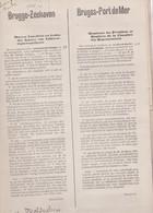 BRUGES MALDEGEM MALDEGHEM Pétition 1878 Création Port De Mer BRUGGE-ZEEHAVEN Heyst Heist  161 Signatures D'habitants - Documents Historiques