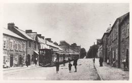 Postcard Tram Caledon Co Tyrone [ Reproduction ] My Ref  B13851 - Tyrone