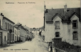 Neufchâteau Panorama Du Faubourg Circulée En 1911 - Neufchâteau