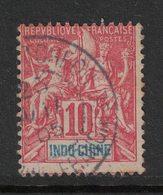 Indochine - Indochina - Yvert 18 Oblitéré KOUANG TCHEOU - Scott#9 - Used Stamps