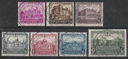 308/314 Chateaux,Kastelen Oblit/gestp Centrale - Belgio