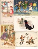 Nieuwjaarskaarten / Bonne Année : 15 Kaarten ( 1911 - 1955 ) - New Year