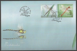 Aland Islands - Dragonflies, FDC, 2012 - Sonstige