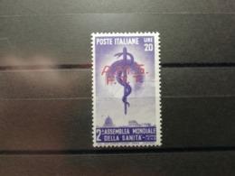 Italie Trieste 1949 Y&T N°45 * Organisation Mondiale De La Santé - Trieste