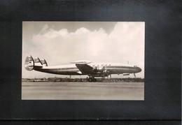 Aviation 6 Lufthansa  Lockheed Super - G Constellation  Interesting Photo - Aviazione