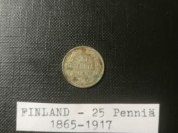 FINLANDE/Finland - 25 Penniä 1913 - Finlande