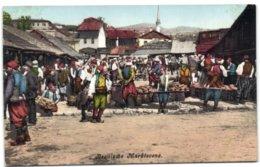 Bosnische Marktscene - Bosnia And Herzegovina