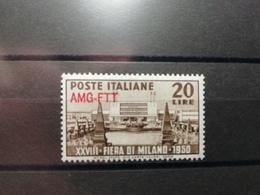 Italie Trieste 1950 Y&T N°66 * Foire De Milan - Trieste