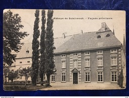 "GILLY----cpa--""Ancienne Abbaye De Soleilmont-Façade Principale""--1905 - Charleroi"