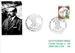 ITALIA - 1992 CENTO (FE) Cent. Morte Di GIUSEPPE BORSELLI Politico - 486 - Celebrità