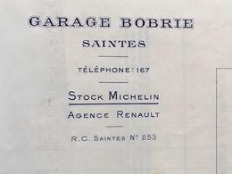Dossier Concernant L'auto Automobile Voiture Garage Assurance Etc...  Saintes Charente Maritime - France