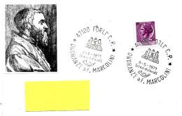 ITALIA - 1971 FORLI' Onoranze A FRANCESCO MARCOLINI Incisore Tipografo - 487 - Celebrità