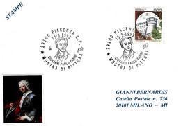 ITALIA - 1993 PIACENZA Mostra Di GIOVANNI PAOLO PANINI Pittore - 488 - Celebrità