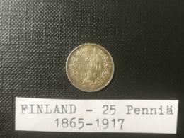 FINLANDE/Finland - 25 Penniä 1916 - Finlande