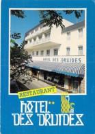 56 - QUIBERON : Hotel Restaurant DES DRUIDES ( Mme CARN ) CPM Grand Format 1988 - Morbihan Bretagne - Quiberon