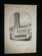 Mechelen-St.Rombouts - Estampes & Gravures