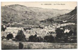 Ornans - La Ville Haute - France