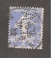 Perforé/perfin/lochung France No 237 E.A Sté Nouvelle Des Ets Adt - France