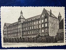 "ENGHIEN-EDINGEN----cpa--""Collège St-Augustin""-1943 - Enghien - Edingen"