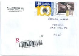 B4190 Hungary Organization Lions Club Religion Reformation Art Personality Registered - Rotary, Lions Club