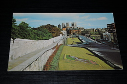 9395       THE MINSTER FROM THE CITY WALLS, YORK - York