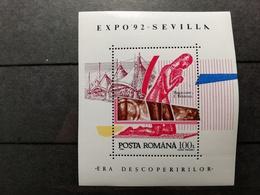 Roumanie 1992 Y&T N°219 ** Expo De Séville - Blocs-feuillets