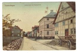 ALLEMAGNE HESSE VECKERHAGEN AMTSSTRASSE MIT AMISGERICHT - Duitsland