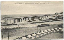 Ostende - Galerie Premenoir Et Panorama De La Plage - Oostende