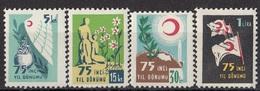 TURKEY 172-175,postage Due,unused - 1921-... Republik
