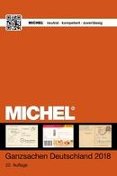 Michel Deutschland Katalog Ganzsachen 2018 Inland Portofrei Neu - Deutschland