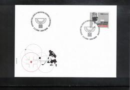 Switzerland 2009 World Ice Hockey Championship FDC - Jockey (sobre Hielo)
