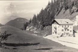 PASSO DELLE PALADE-TRENTO-VAL DI NON-ALBERGO(PASSO PALADE)CARTOLINA VERA FOTOGRAFIA-VIAGGIATA IL 7-7-1957 - Trento